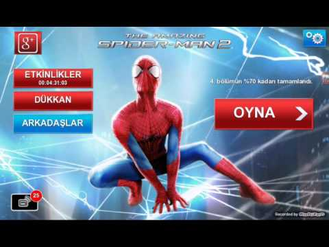 The amazing  spiderman 2 apk nasıl indirilir