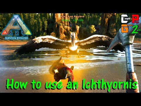 Ark Survival Evolved - How to use an Ichthyornis to get prime - S07E11