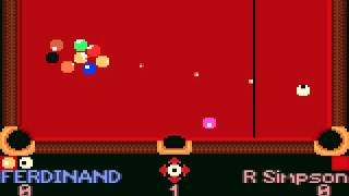 Pro Pool (GBC) - Vizzed.com GamePlay