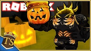 Dansk Roblox | Pumpkin Carving Simulator - Mit Halloween Outfit!