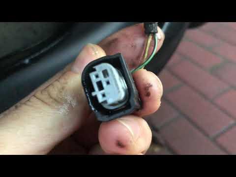 Одна из неисправностей парктроника BMW X5 E53 E39 E60 Park Sensor PDC Wiring Connector Damage