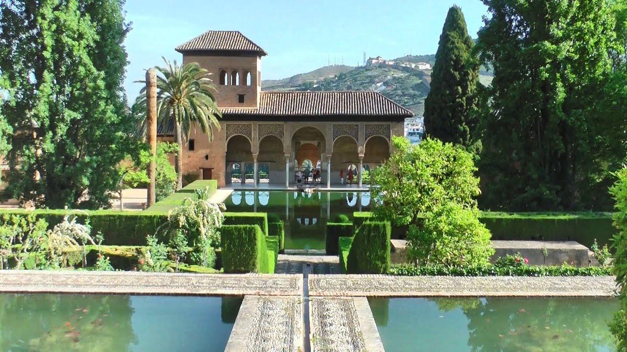 Alhambra - Granada, Andalusia, Spain in HD