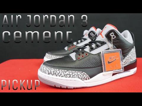 Air Jordan 3 Cement pickup