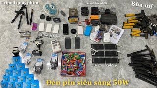 Máy Vít Tajima-Sạc Pin QC3.0-Đèn Pin 50W-Búa Rìu Mỹ-Găng Tay Chống Cắt 3M,..☎️0962997762