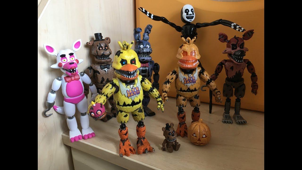 Мультики фредди игрушки