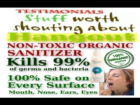 Essanté Organics Sanitizer – Miracle Spray (For Home & Body) Kills 99% of germs organically!