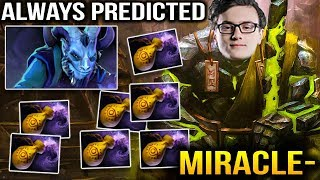 Miracle- Earth SPirit - Always Perfect Predicted Dust Dota 2