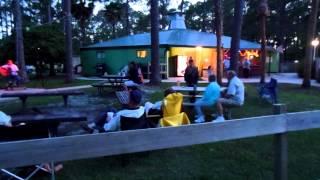 live muziek op de camping in Lamont