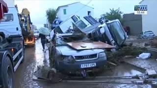 Maltempo: inondazioni a Maiorca e criticità in Sardegna