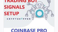 Setting Up Strategy Nakamoto Signal Service CryptoHopper Automated Crypto Trading Bot Coinbase Pro