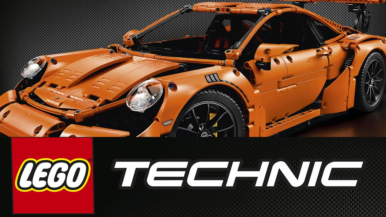lego porsche 911 gt3 rs 2016 42056 technic youtube. Black Bedroom Furniture Sets. Home Design Ideas