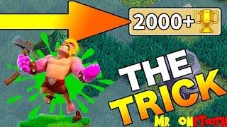 CLASH OF CLANS TRICK 👍- CLASH OF CLANS 2018 - GLITCH - BUILDER HALL 5 STRATEGY - BH5 ATTACK STRAT