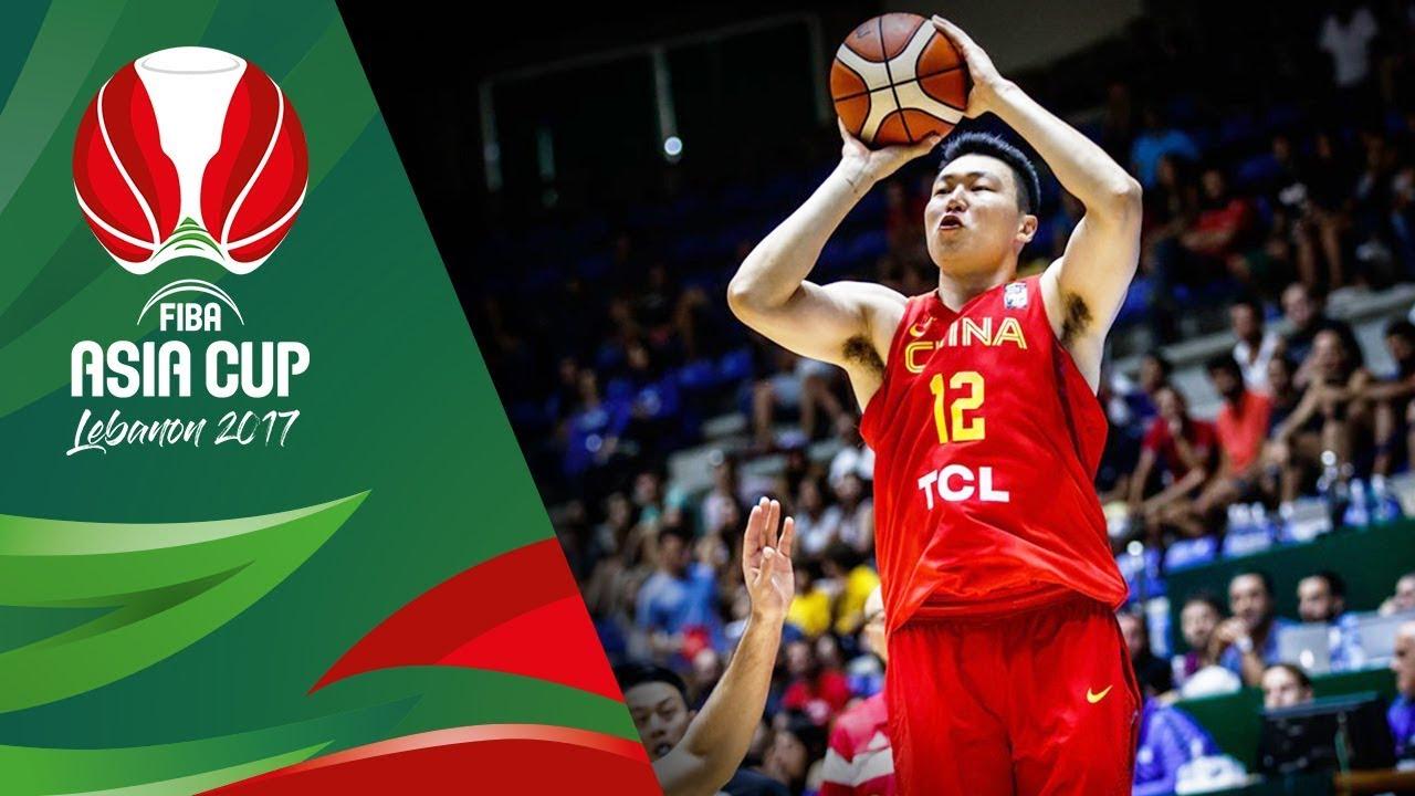 Lebanon v China - Full Game - Classification 5-6 - FIBA Asia Cup 2017