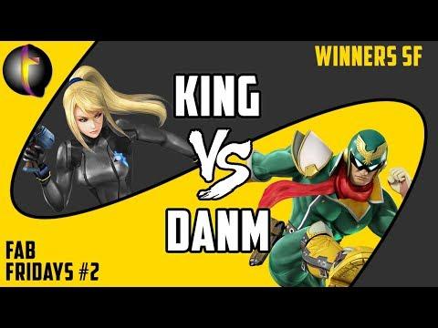 FABF2 Singles: SSB Wii U - WSF - King vs DanM