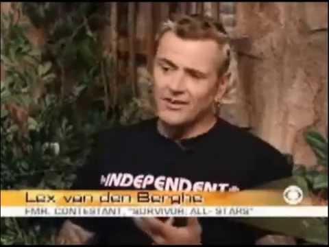 Lex Van Den Berghe Early Show Interview (2004)