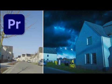 Make a SUPER REALISTIC Storm Scene in After Effects Tutorial