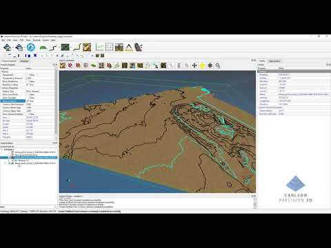 Carlson Precision 3D 2020 New and Improved Point Cloud Editing