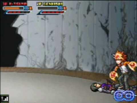 KHR Flame Rumble X: Tsuna Vs Genkishi PV