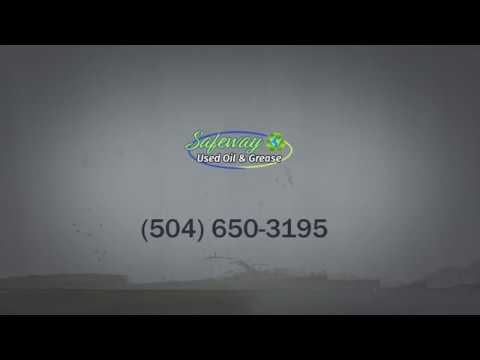 Grease Trap Cleaning & Oil Disposal in Saint Bernard, LA | Safeway Used Oil and Grease