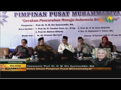 PENGAJIAN BULANAN 5 JUNI 2015 - GERAKAN PENCERAHAN MENUJU INDONESIA BERKEMAJUAN