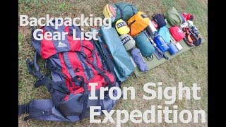Gambar cover My Backpacking Gear List