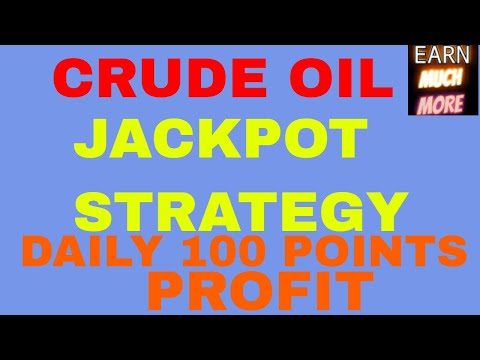 CRUDEOIL INTRADAY JACKPOT STRATEGY – DAILY 50-100 POINTS – UNBEATABLE STRATEGY