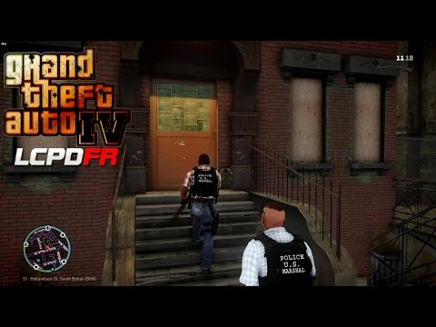 GRAND THEFT AUTO IV - LCPDFR - EPiSODE 27 - U.S. MARSHALS -