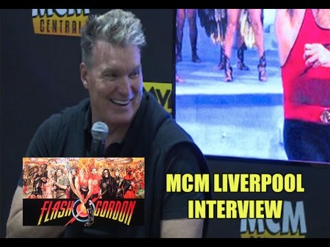 Flash Gordon's SAM J JONES Interview @ MCM Liverpool