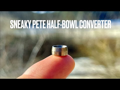 The Sneaky Pete Half-Bowl Converter - Three Hit Demo Session | GWNVC's Vaporizer Reviews
