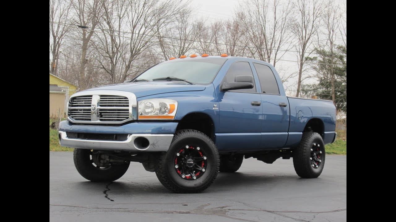 2006 Dodge Ram 2500 5 9l Cummins Diesel Lifted   Sold