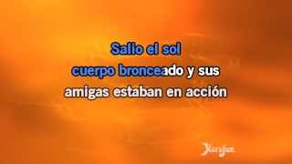 Karaoke Salió El Sol - Don Omar *
