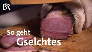 Schwarzgeruchertes selbstgemacht  Zwischen Spessart und Karwendel  Schinken ruchern  Doku