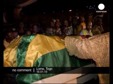 Togo soccer team returns home