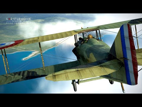 IL2 : FLYING CIRCUS  TESTING OUT SPAD XIII