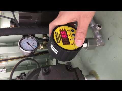 Setting Pressure Meter of 200L Presser Machine