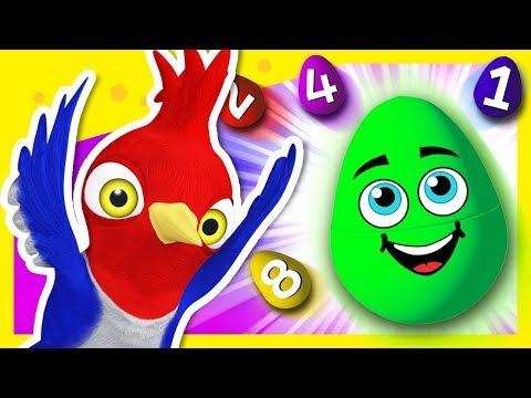 Huevos Sorpresa de Números de La Granja de Zenón   A Jugar