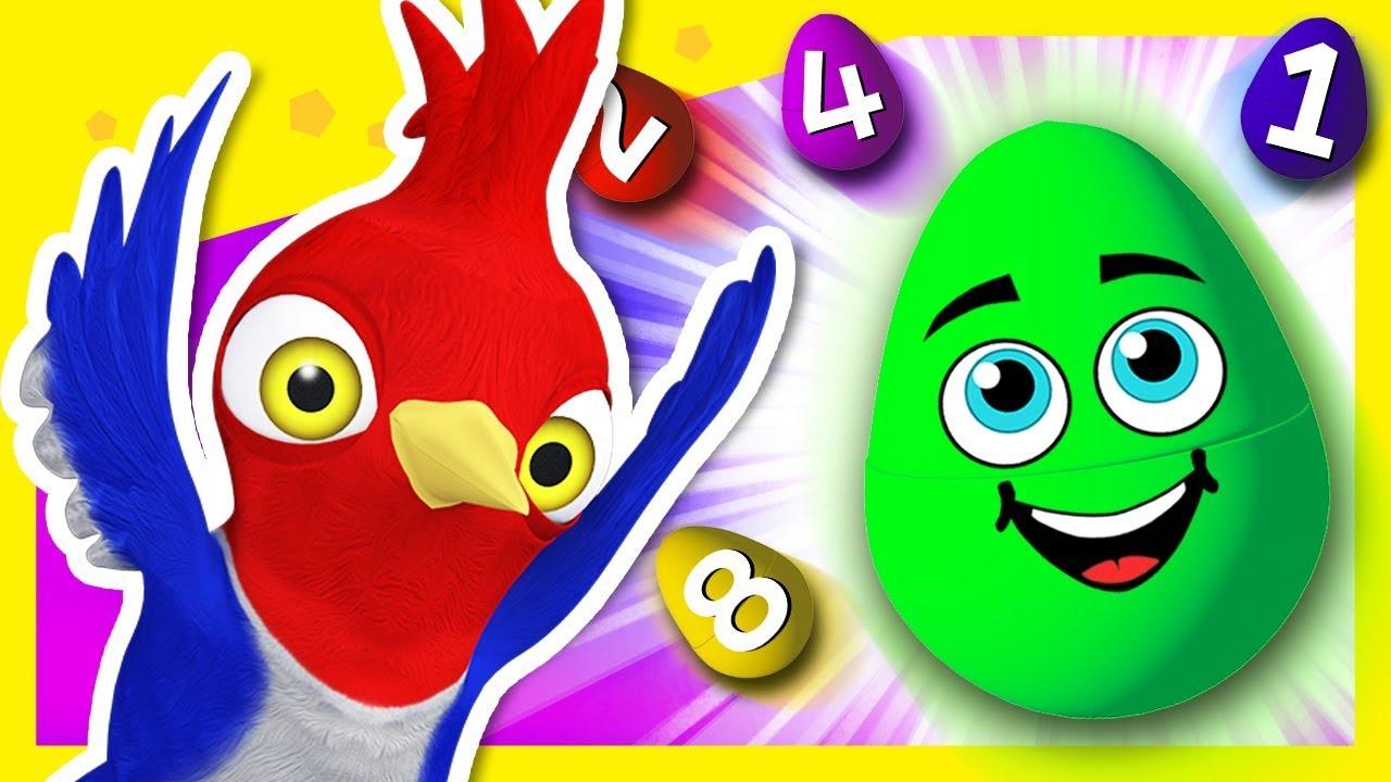 Huevos Sorpresa de Números de La Granja de Zenón | A Jugar