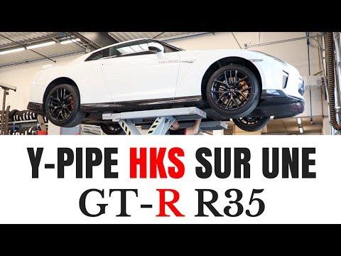 IL POSE UN YPIPE HKS SUR SA GTR R35 ⎟Nissan GTR R35⎟