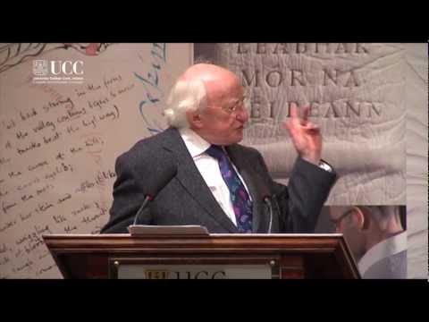 President Higgins' speech at 'The Great Book of Ireland' event in University College Cork, Ireland