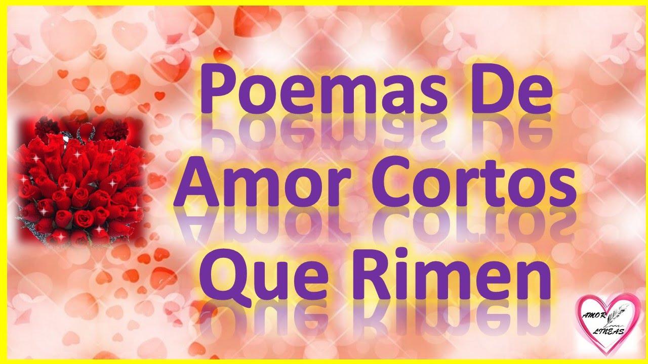 Poemas De Amor Cortos Que Rimen Tristes Youtube