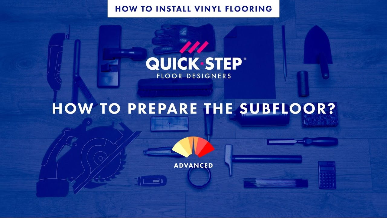 how to make a subfloor