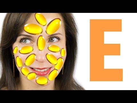 Витамин Е для лица в капсулах из аптеки