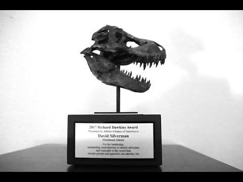 Richard Dawkins Award 2017 to David Silverman
