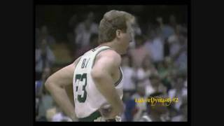 Larry Bird 1991 Playoffs: 32pts, Gm 5 vs. Indiana Pacers