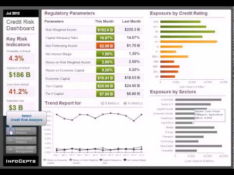 Credit Risk Dashboard_Microstrategy