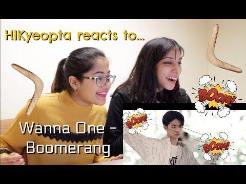 ♪ Wanna One's 'Boomerang' - HIKyeopta Reacts ft. Shelly ♪