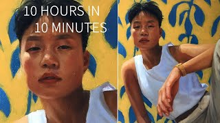 "PAINTING TIMELAPSE || Portrait in Oil - ""Lisa"""