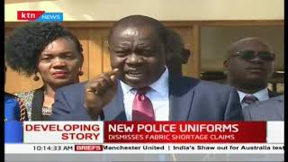 We have paid for the new uniforms: Interior CS Matiang\'i on new police uniforms