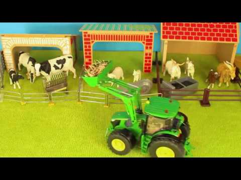 JOHN DEERE TRACTOR SONG #13 COWS SHEEP GOATS HAY