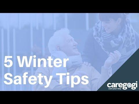5 Winter Safety Tips for Seniors